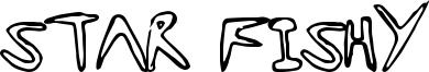 Star Fishy Font