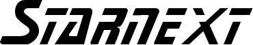 Starnext Font
