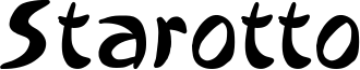 Starotto Font