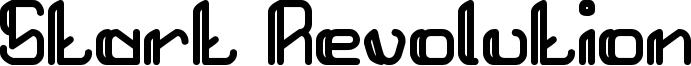 Start Revolution Font