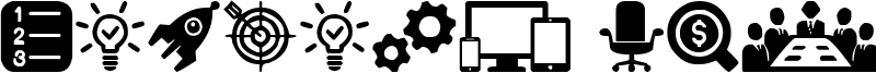 Startup Icons Font