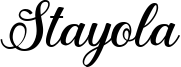 Stayola Font