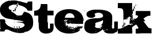 Steak Font