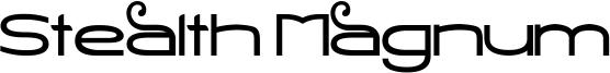 Stealth Magnum Font