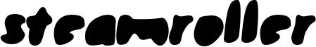 Steamroller Font