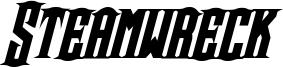 Steamwreck Bold Italic.otf