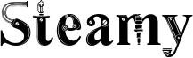 Steamy Font