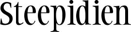 Steepidien Font