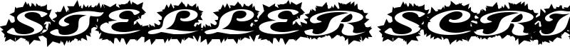 Steller Script Font