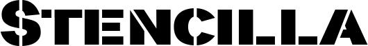 Stencilla Font