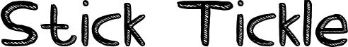 Stick Tickle Font