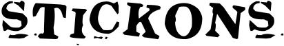 Stickons Font