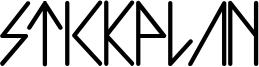 Stickplan Font