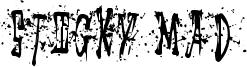 Sticky Mad Font