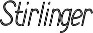 Stirlinger Font