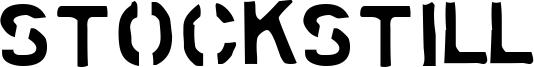 Stockstill Font