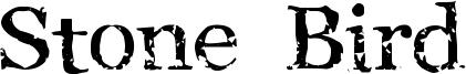 Stone Bird Font