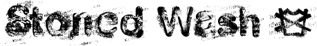Stoned Wash 6 Font