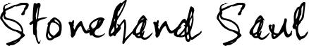 Stonehand Saul Font