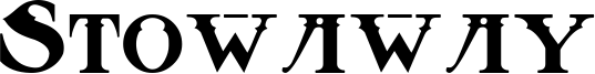 Stowaway Font