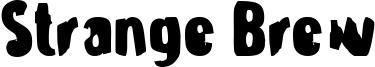 Strange Brew Font