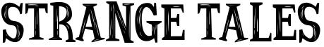 Strange Tales Font