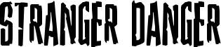 Stranger Danger Font