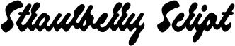Strawberry Script Font