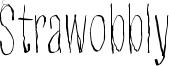Strawobbly Font