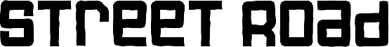 Street Road Font