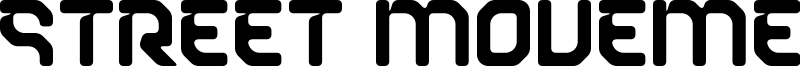 Street Movement Font