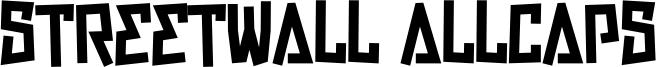 Streetwall Allcaps Font
