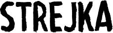Strejka Font