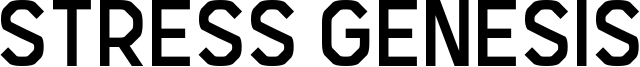 Stress Genesis Font