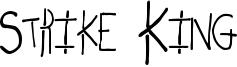 Strike King Font