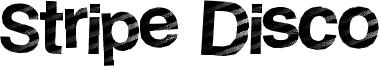 Stripe Disco Font