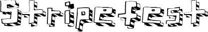 Stripefest Font