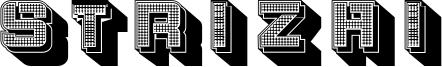 Strizhi Font