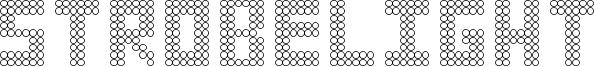 Strobelight Font