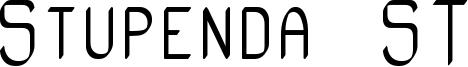 Stupenda ST Font