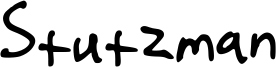 Stutzman Font