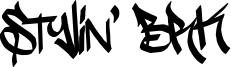 Stylin' BRK Font