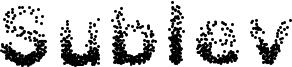 Sublev Font