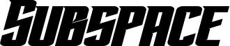 Subspace Bold Italic.otf