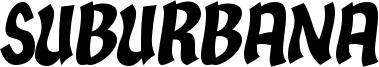 Suburbana Font
