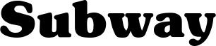 Subway Font
