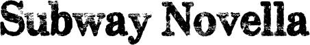 Subway Novella Font