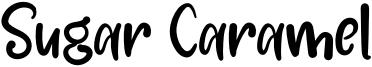 Sugar Caramel Font