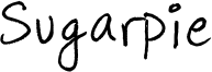 Sugarpie Font