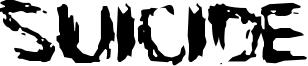 Suicide Font